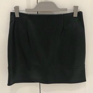 ASOS Faux Leather Mini Skirt